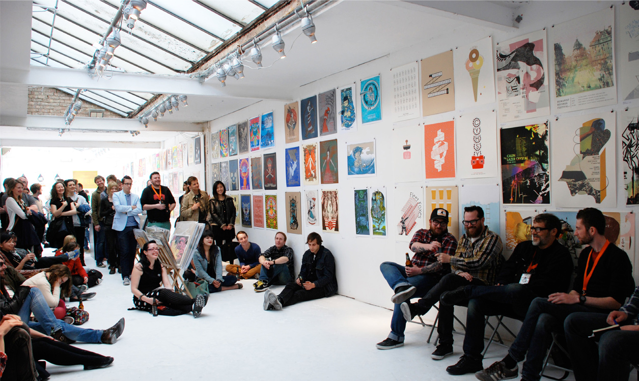 UK Poster Association INK & PAPER Exhibition